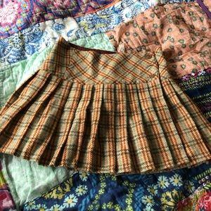 Betsey Johnson Plaid Skirt